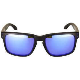 Oakley Holbrook Sunglasses Julian Wilson matte black/violet iridium